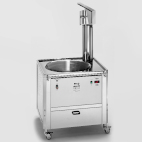 Gas fryer for churros